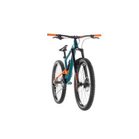 Cube Hanzz 190 Race Mountain bike Full Suspension petrolio